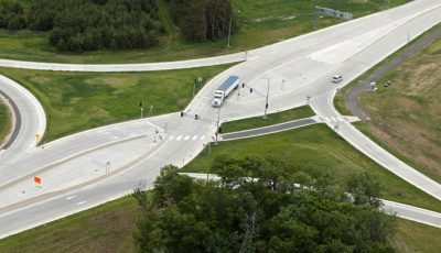 Photo of Elk Run interchange