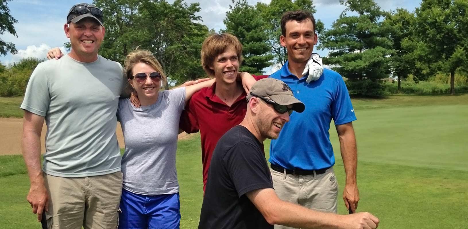 photo at TKDA golf event