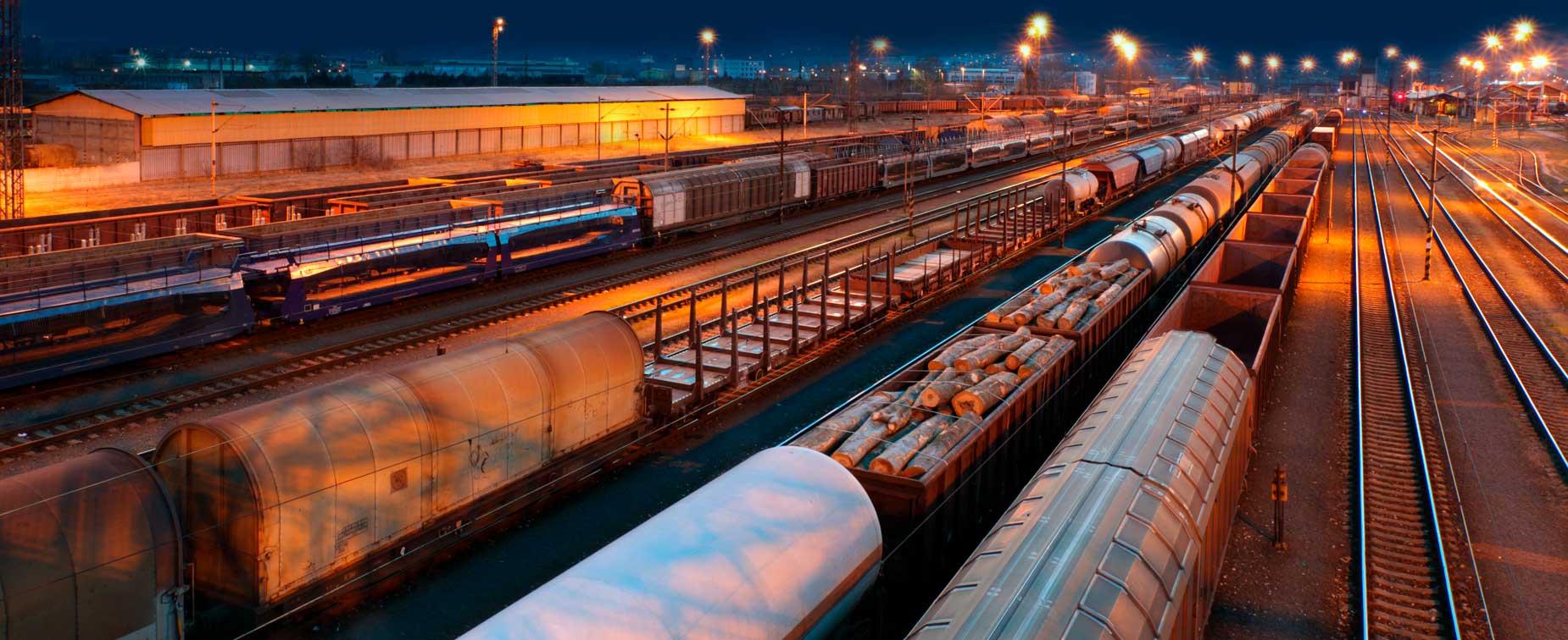 Photo of rail yard
