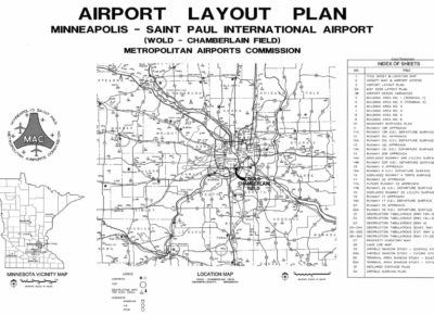 Airport Layout Map