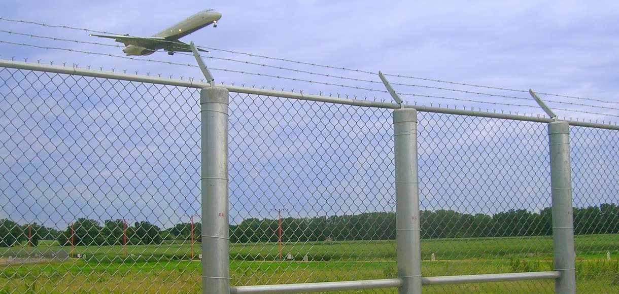 Photo of perimeter fencing