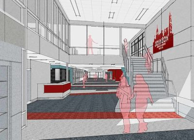 Rendering of Johnson High School