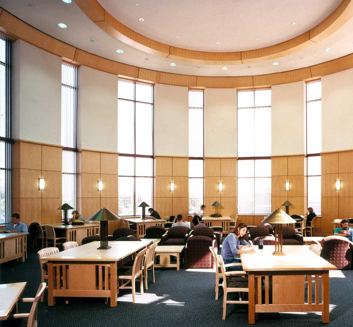 Umd Campus Library Design Education Building Design Mn Tkda