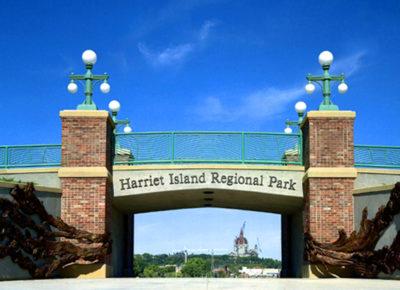 Gateway to Harriet Island