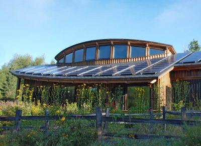 Exterior photo of Hartley Nature Center