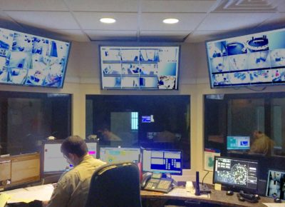 Interior of Command Center