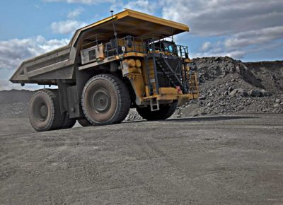 Photo of mining truck