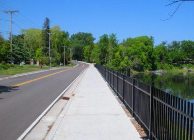 Smith Town Road runoff drain