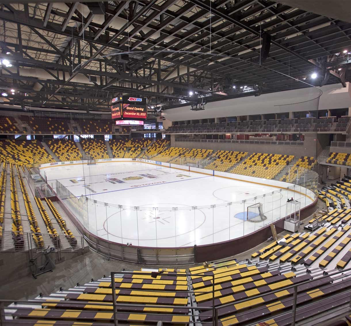 Projects Amsoil Arena Tkda Engineering Architecture