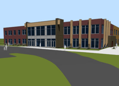 Rendering of Johnny Bird Community Center