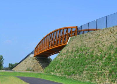 photo of Hardwood Creek Trail Bridge