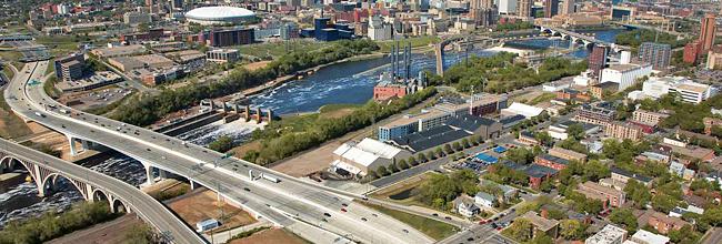 Photo of I-35W St. Anthony Falls Bridge