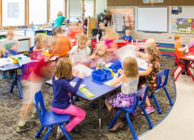 Hermantown kids classroom