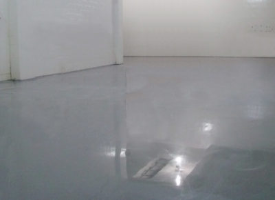 Wellston facility flooring