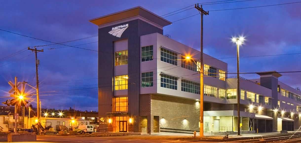 Photo of Amtrak building