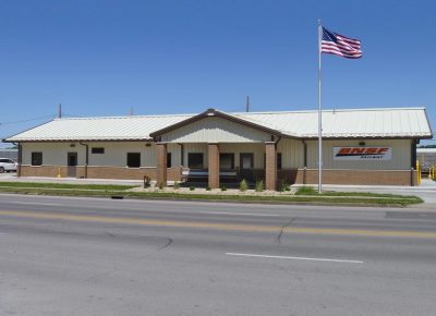Street view of a BNSF Design-Build project