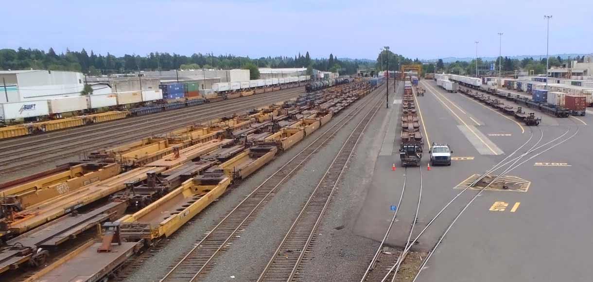 Photo of Brooklyn Rail Yard