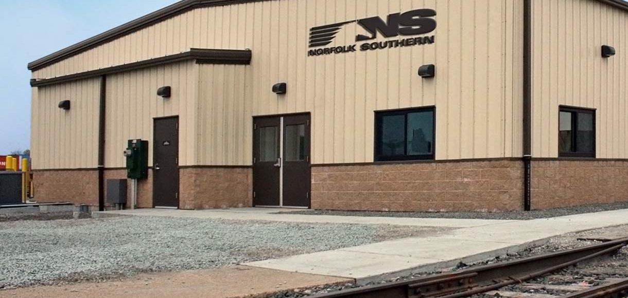 Exterior photo of 51st Street Crew Facility