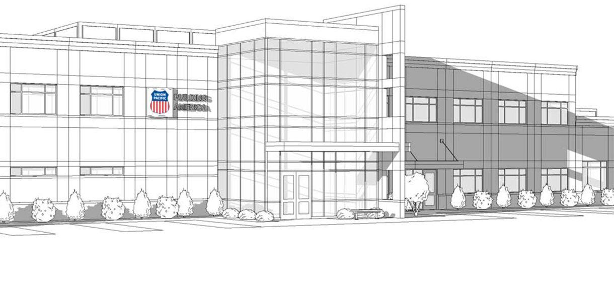 Union Pacifico Proviso New Yard Office