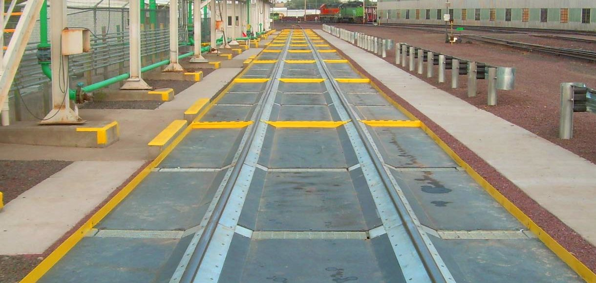 Car unload track constructed by TKDA