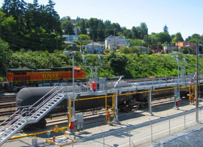 BNSF Fuel Platform in Seattle, WA constructed by TKDA