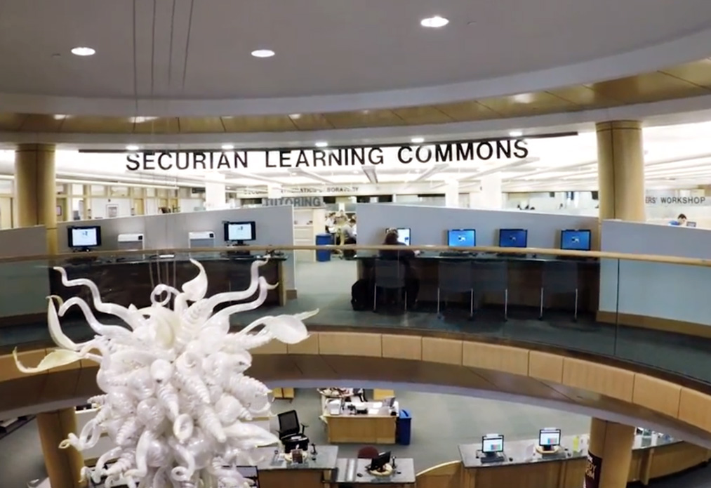 Photo of the Securian Learning Center