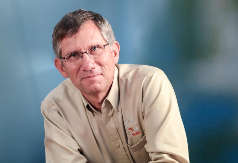 Photo of Bill Deitner, retiring CEO of TKDA