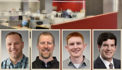 Photo of the new hires at TKDA Duluth office