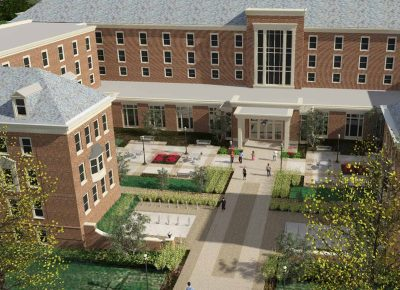 Rendering of Pioneer Hall