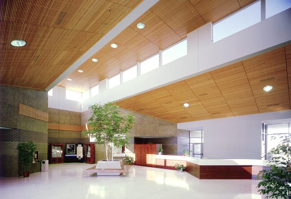 Interior of Rochester Public Utilities building