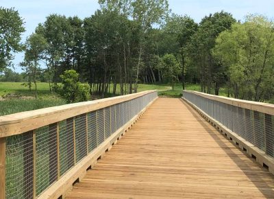 Boardwalk at Lake Elmo Park