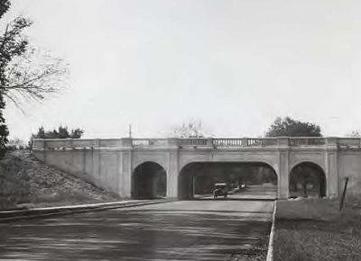 Original Godfrey Bridge.
